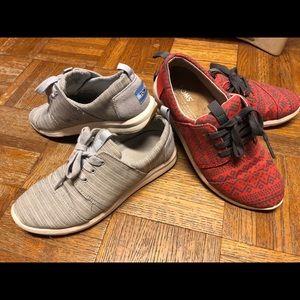 Toms del Rey sneaker bundle